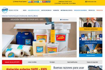Prosolsystem, EIFS, cintas de fibra de vidrio, mallas de fibra en Chile