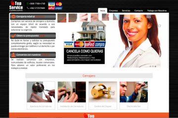 Cerrajería Top Service, servicio a domicilio las 24 horas del día