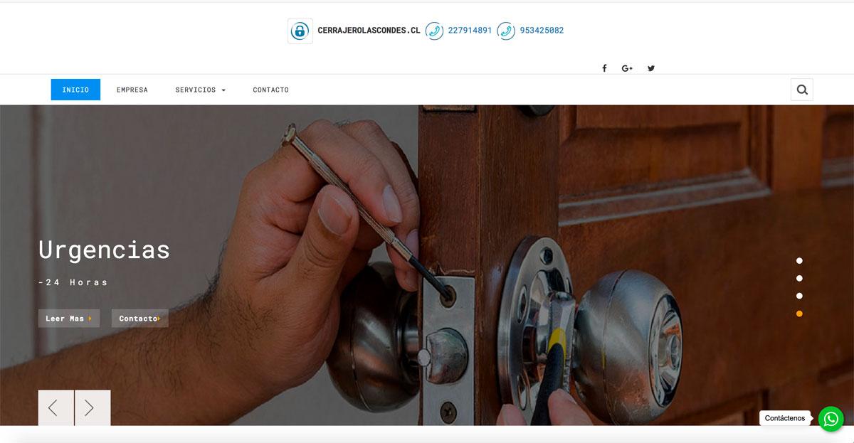 Servicio de Cerrajero a domicilio en Las Condes