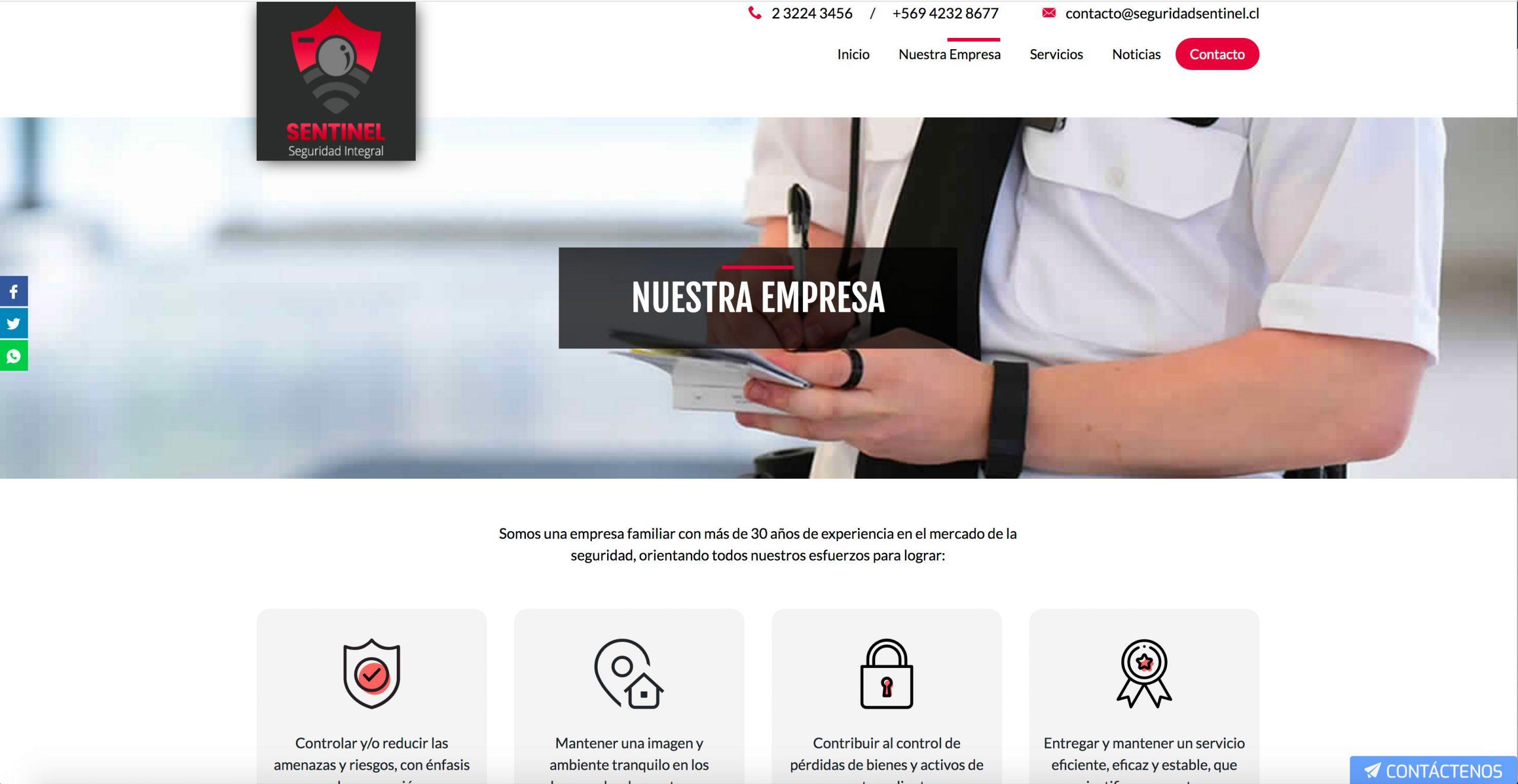 empresa de televigilancia  en Santiago de Chile