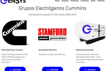 Gensys Generadores, distribuidores de generador diesel