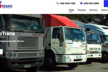 Todotrans, servicio de transporte de carga en Chile