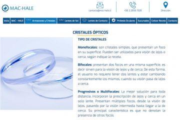 Mac-Hale, expertos en lentes de contacto en Santiago
