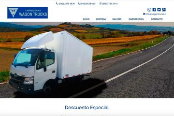 WagonTrucks, lo mejor en carrocerías para camiones en Chile