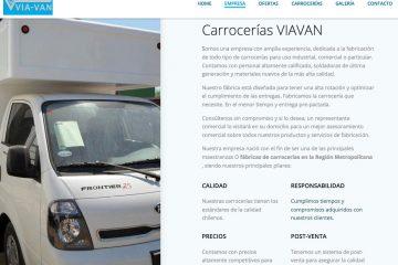 Viavan, servicio de reparación de carrocerías en Chile