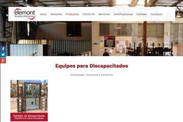 Elemont, servicio de elevadores de carga en Santiago