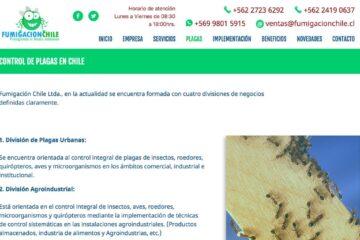 Fumigación Chile, servicio de lavado de estanques en Santiago