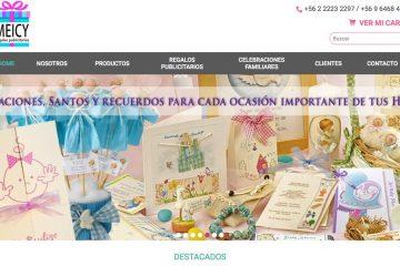 Meicy, regalos top y venta de regalos corporativos en Santiago
