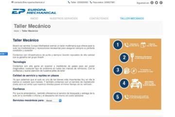 Europa Mechanical, taller mecánico multimarca en Santiago