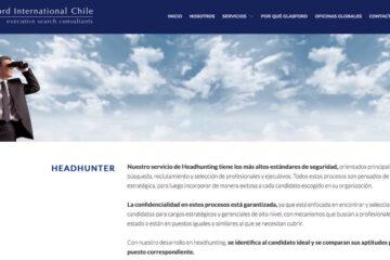 Glasford, experto en búsqueda de ejecutivos en Chile