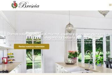 Mármol Brescia, cubiertas de mármol de cocina y baño
