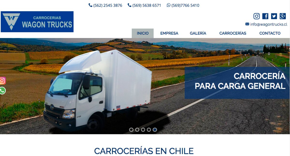 wagon trucks en santiago