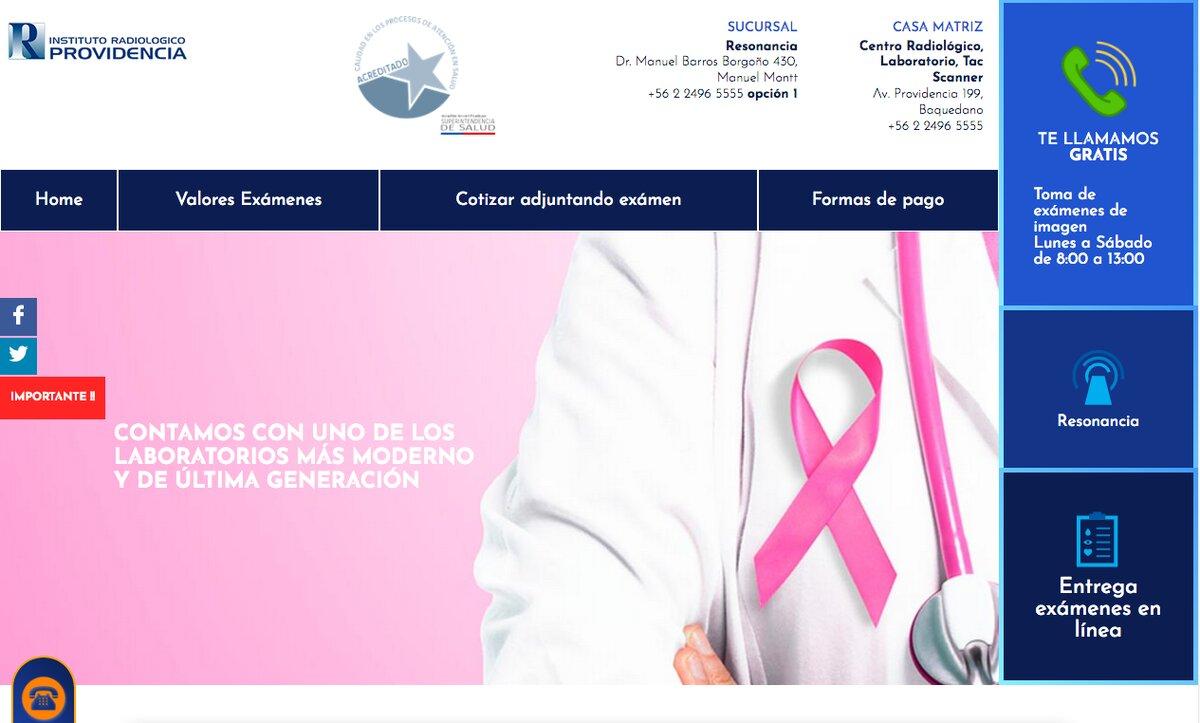 Mamografía en chile