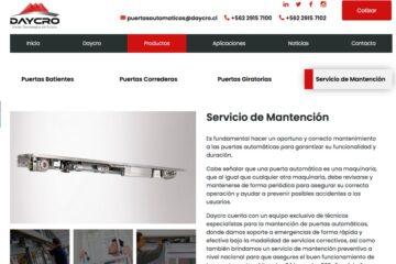 Puertas Daycro, instalación de puertas deslizantes en Chile