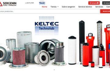 Sergenin, venta de filtros para compresores de amoniaco