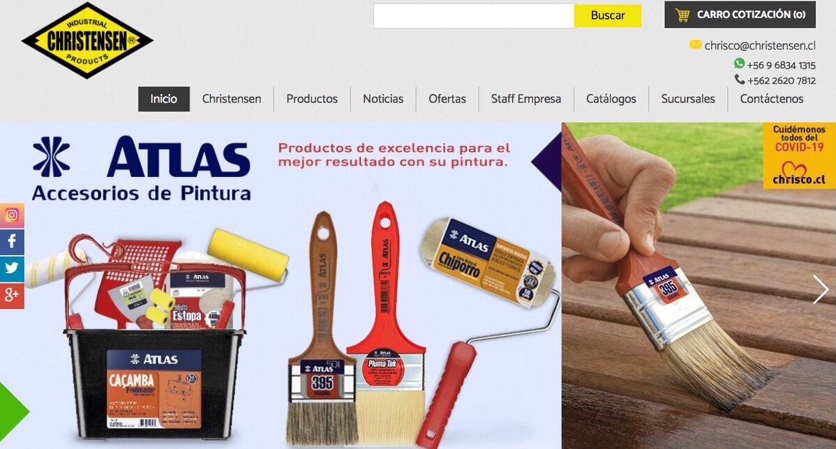 venta de Brochas y rodillos en la rm de santiago de chile