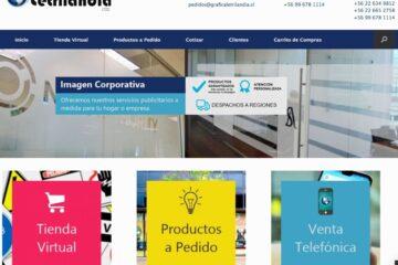 Gráfica Letrilandia, fabricantes de letras volumétricas en Santiago de Chile