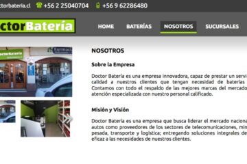 Doctor Batería, proveedor de baterías de auto en Santiago