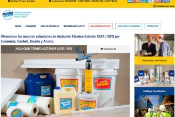 Prosolsystem, ventas de productos de aislación exterior