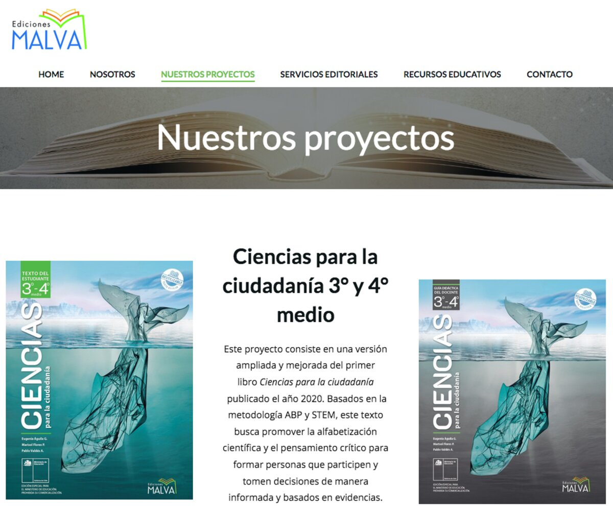 editoriales en chile